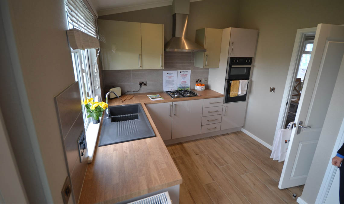Residential Park Home Kitchen