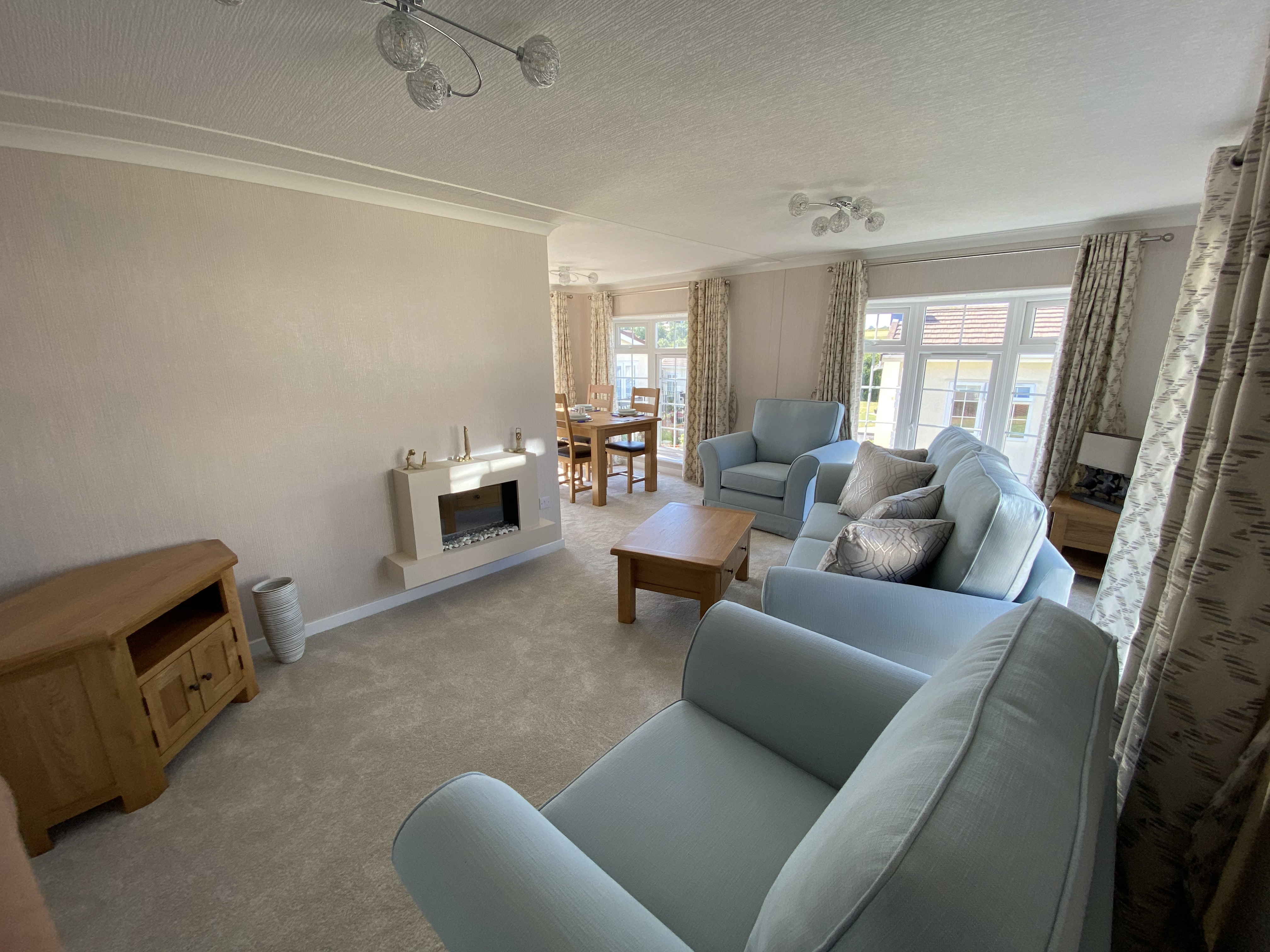 Residential Park Home Lounge