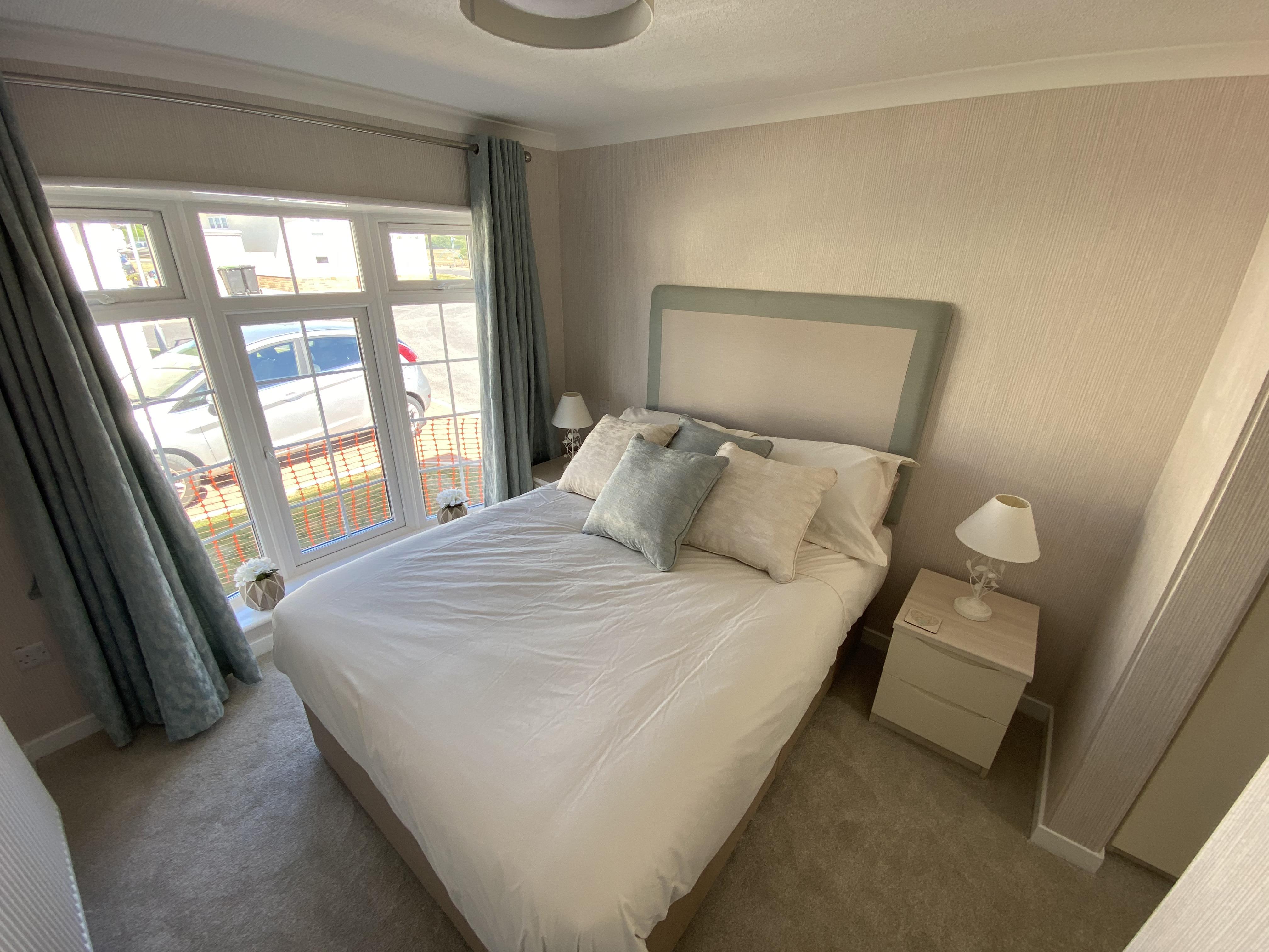 Large Park Home Bedroom